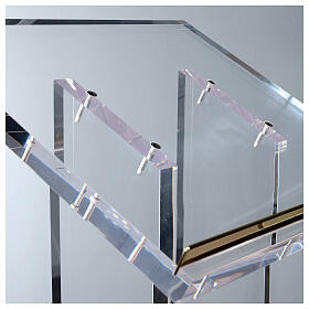 Molina lectern in perspex s7