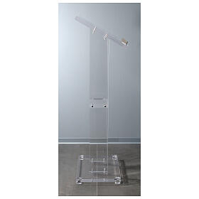 Molina lectern in perspex s8