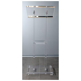 Molina lectern in perspex s10