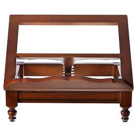 Atril de mesa madera de nogal clásico s8