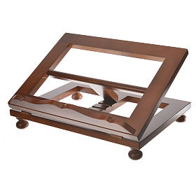 Missal stand in walnut wood, big size s5