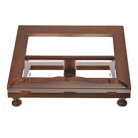 Missal stand in walnut wood, big size s6