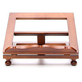 Missal stand in walnut wood, big size s1