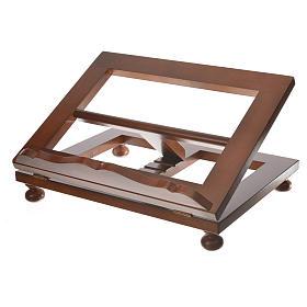 Atril de mesa madera de nogal maxi s5