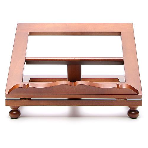 Atril de mesa madera de nogal maxi 1