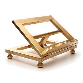 Atril de mesa hoja de oro 35x40 cm s4