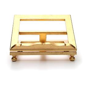 Leggio da tavolo foglia oro 35x40 cm s11