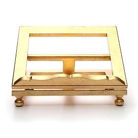 Leggio da tavolo foglia oro 35x40 cm s1