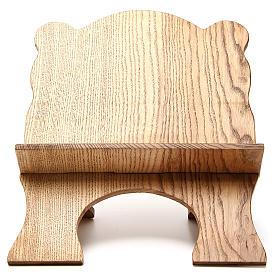 Leggio tavolo frassino chiaro semplice Monaci Betlemme s1