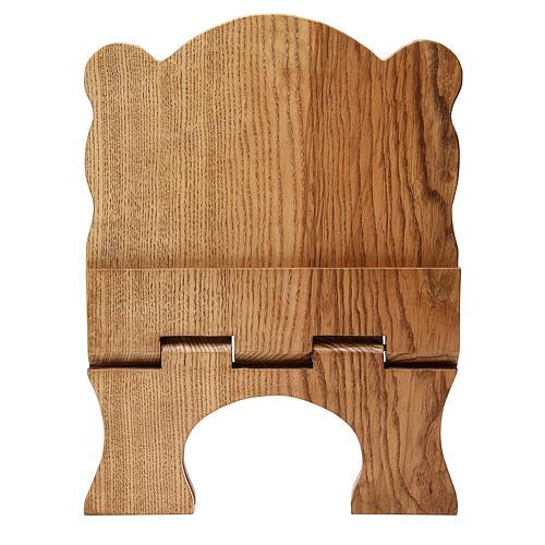 Leggio tavolo frassino chiaro semplice Monaci Betlemme 5