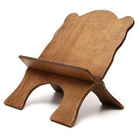 Atril de mesa madera de fresno oscuro Monjes de Belén s2