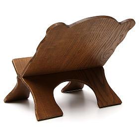 Atril de mesa madera de fresno oscuro Monjes de Belén s3