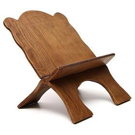 Leggio tavolo frassino scuro semplice Monaci Betlemme s4