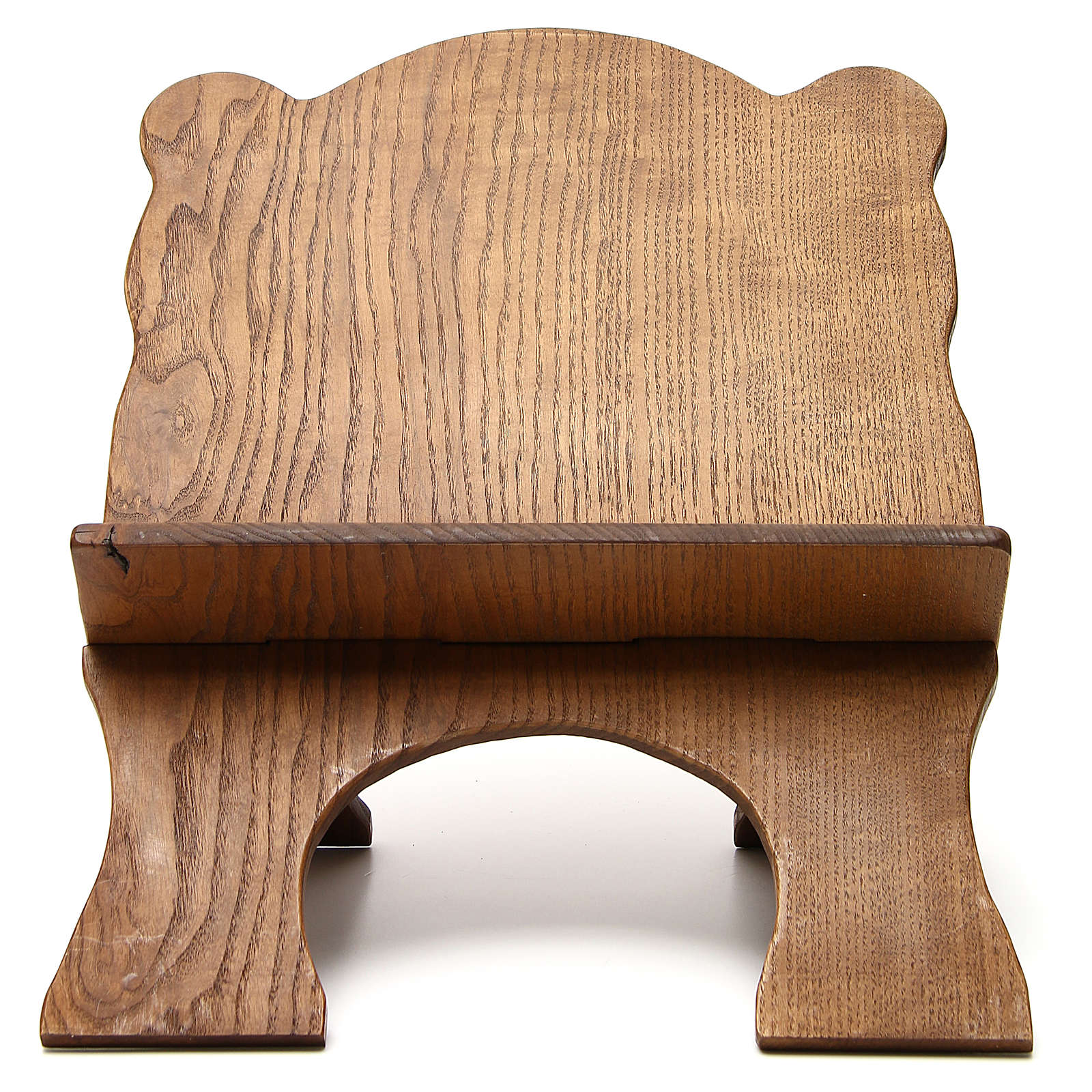 Book stand in black ash wood, simple model, hand carved by the Bethlehem monks 4
