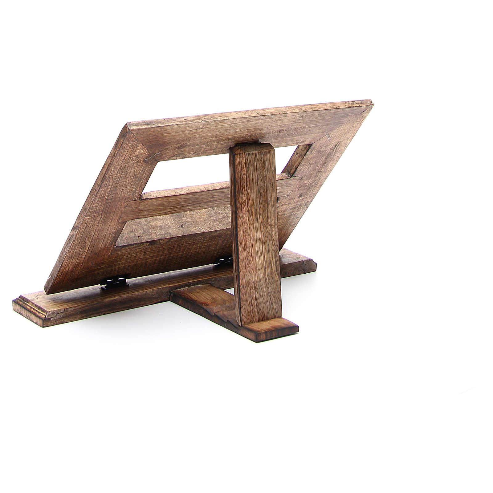 Atril de mesa madera estilo antiguo mod. barato 4