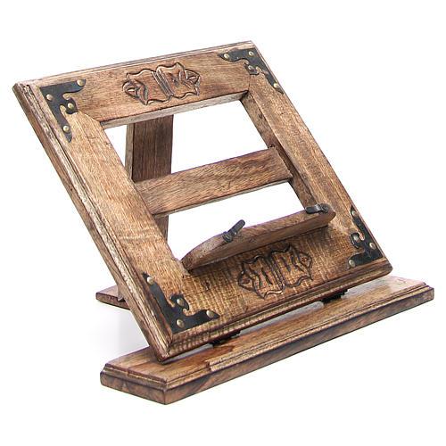 Atril de mesa madera estilo antiguo mod. barato 9