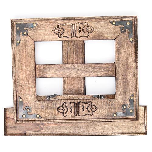 Atril de mesa madera estilo antiguo mod. barato 10