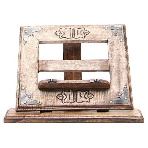 Atril de mesa madera estilo antiguo mod. barato 11