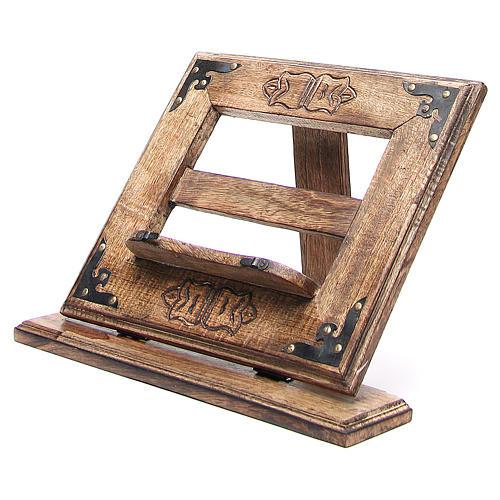 Atril de mesa madera estilo antiguo mod. barato 2