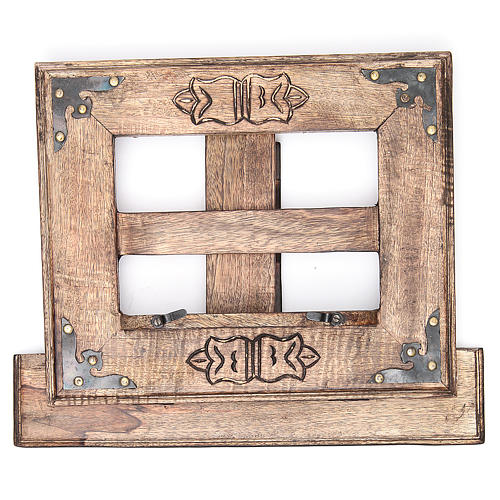 Atril de mesa madera estilo antiguo mod. barato 5