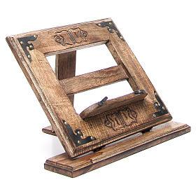 Leggio in legno economico stile antico s9