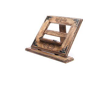Lectern in affordable wood, antique style s7