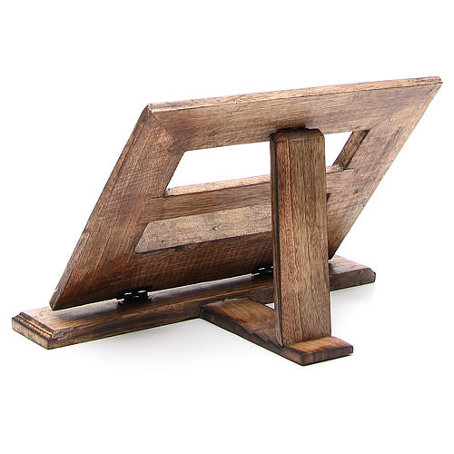 Lectern in affordable wood, antique style 13
