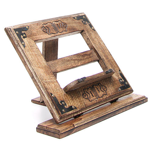 Lectern in affordable wood, antique style 3