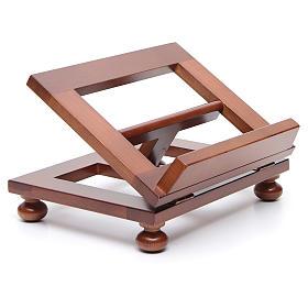 Pupitre de table bois noyer 25x20 cm s3