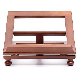 Leggio da tavolo legno noce 30x24 cm s1
