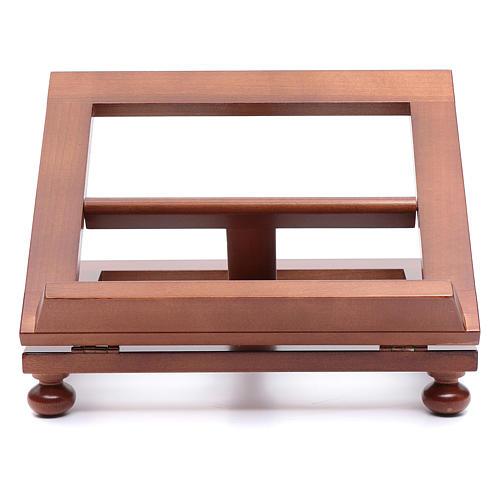 Leggio da tavolo legno noce 30x24 cm 1