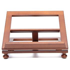 Atril de mesa madera de nogal 35x28 cm s1