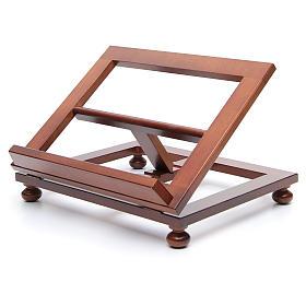 Atril de mesa madera de nogal 35x28 cm s2
