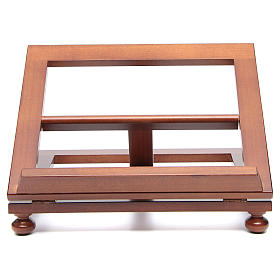 Pupitre de table bois noyer 35x28 cm s1
