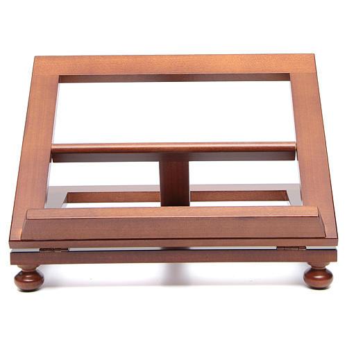 Pupitre de table bois noyer 35x28 cm 1