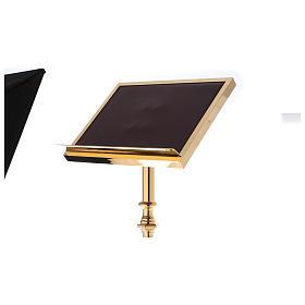 Leggio a colonna ottone barocco oro 150 cm s6