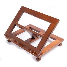 Leggio in legno moderno top s1