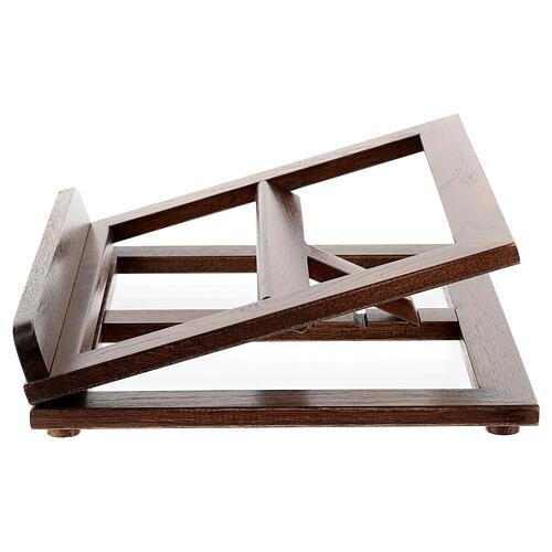 Atril de madera 3 posiciones 5