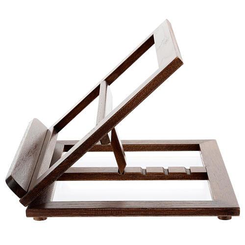 Atril de madera 3 posiciones 8