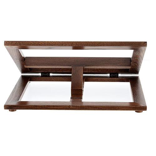 Atril de madera 3 posiciones 9