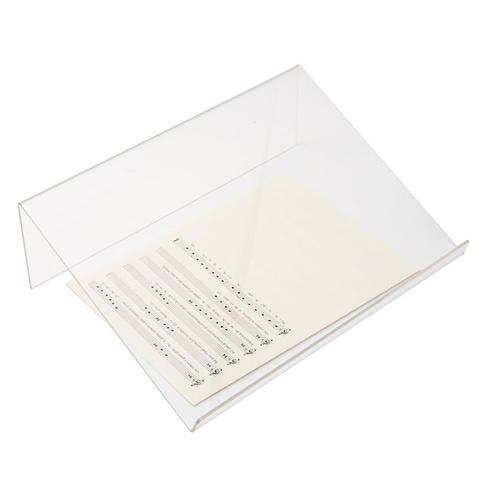 Tischpult Plexiglas, 3 mm Dicke scharfe Kante 5