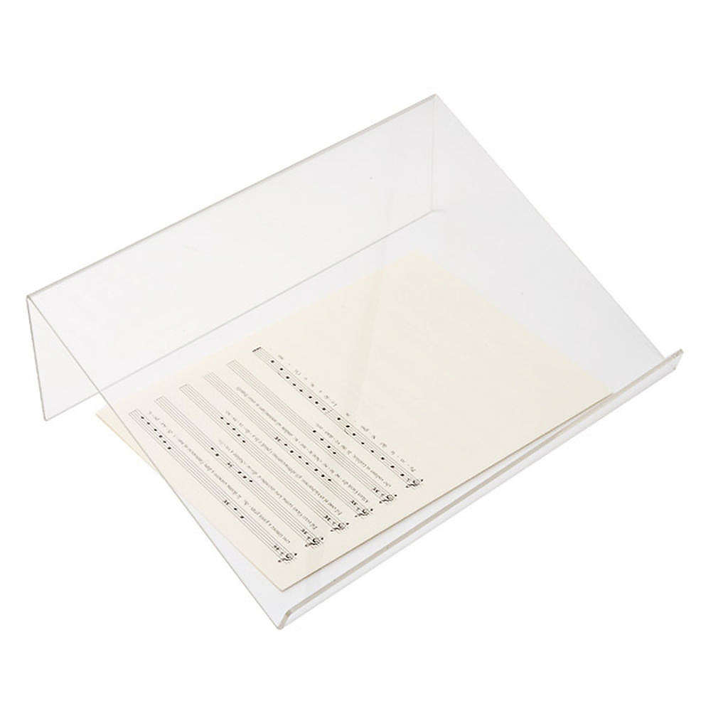 Leggio plexiglass 3 mm taglio vivo 4