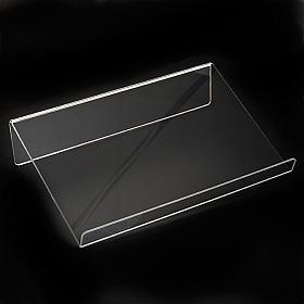 Leggio plexiglass mm 5 stondato s7