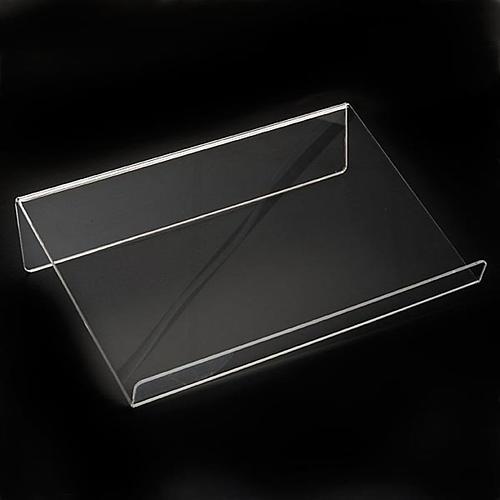 Leggio plexiglass mm 5 stondato 7