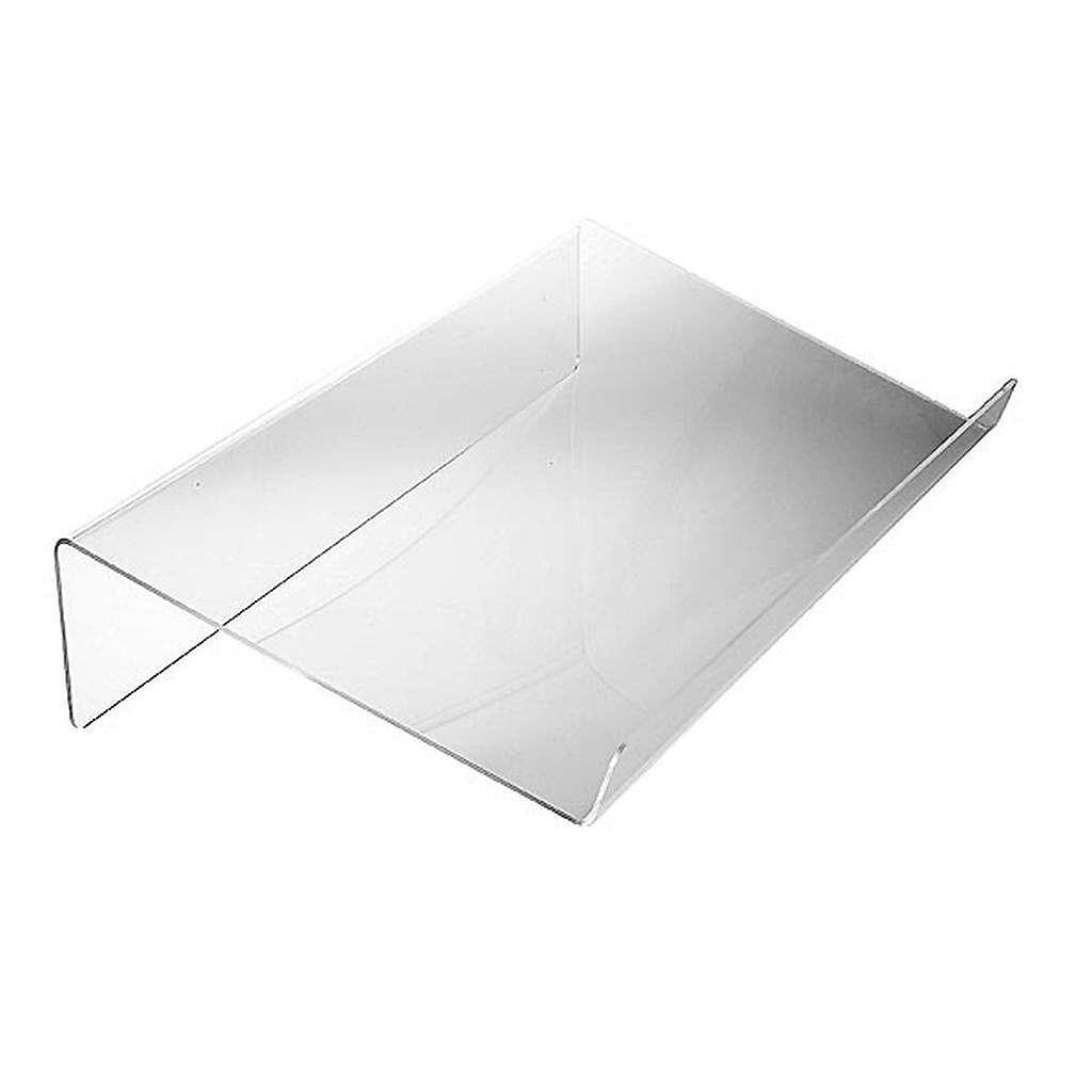 Tischpult Plexiglas, 3 mm Dicke stumpfe Kante 4