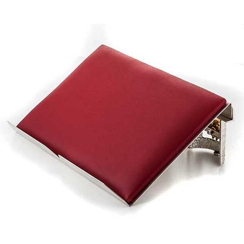 Leggio da tavolo cuscinetto ottone argentato 4