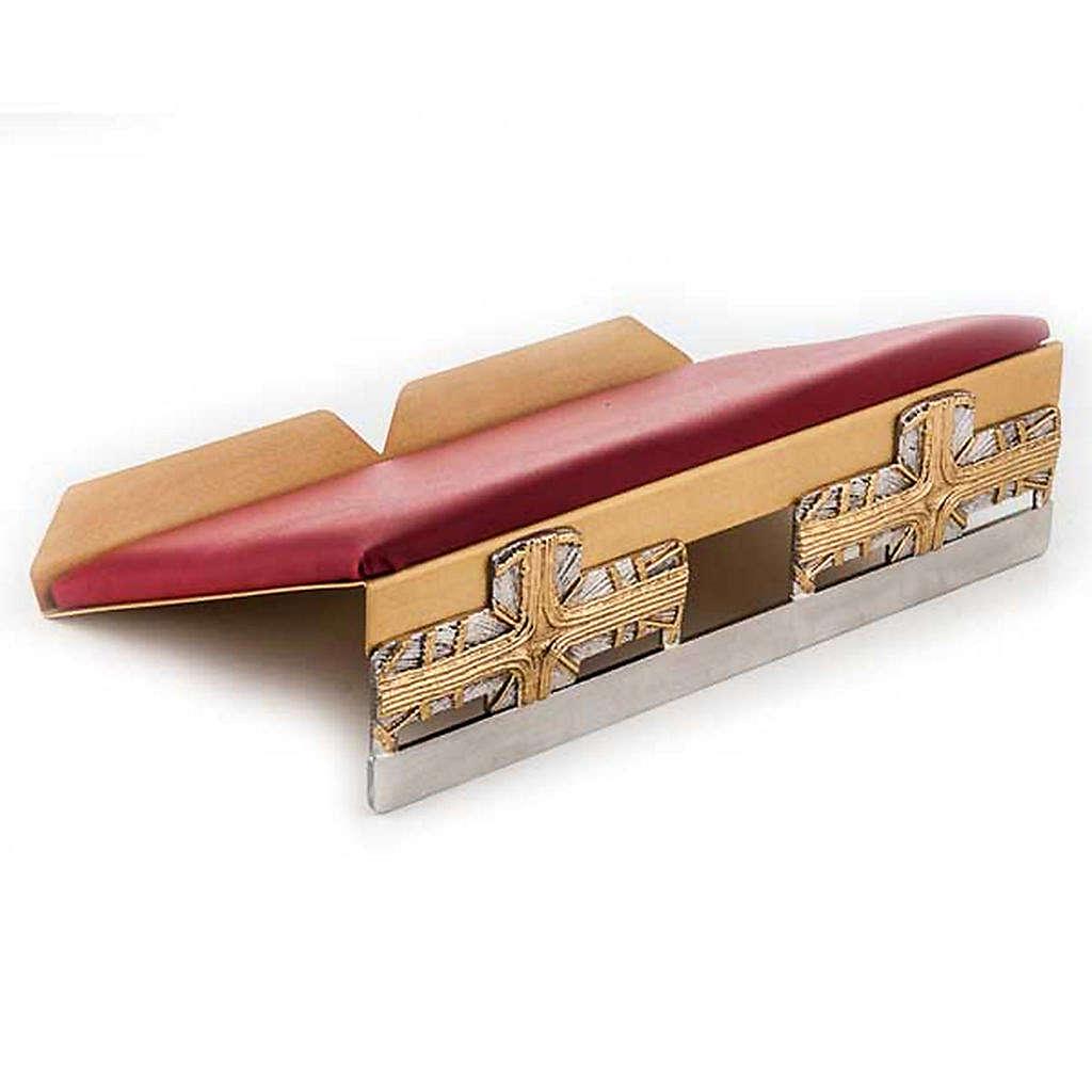 Leggio da mensa cuscinetto ottone croci 4