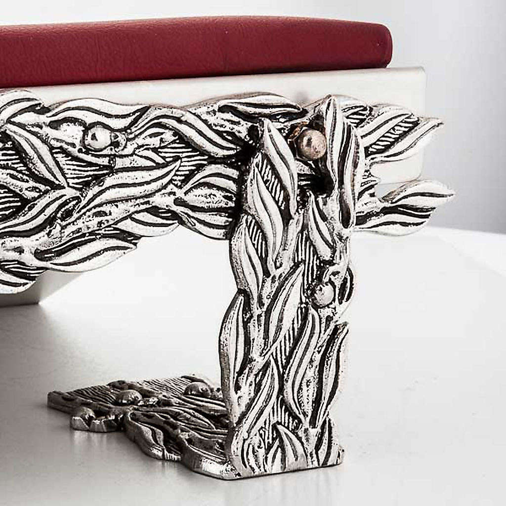Book stand with cushion, stylised decorations 4