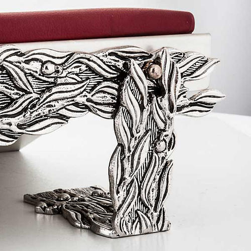 Book stand with cushion, stylised decorations 2