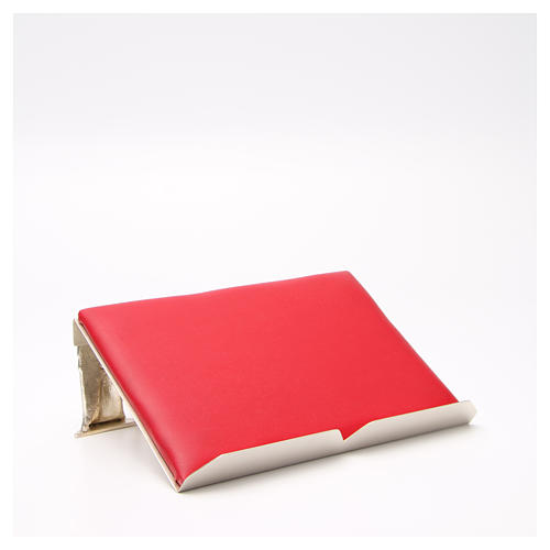 Leggio da mensa cuscinetto decorazioni ottone 3